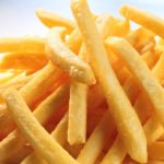 Porzione di patate fritte